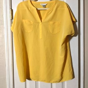 2/$10 Yellow blouse